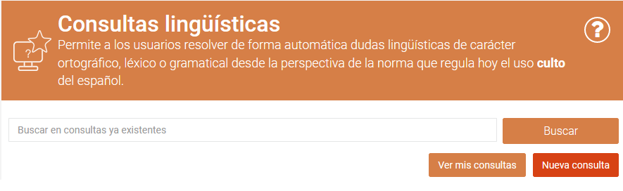 Consultas lingüísticas